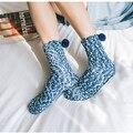 2016 de Invierno de Color Caramelo Caliente Calcetines Suaves de Las Mujeres Calidad de Cama de Algodón/Calcetines Piso Calcetines Gruesos Femeninos de Lana Suave barato 005