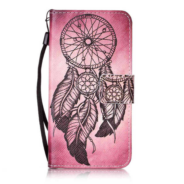 PU Leather Wallet Cases For SAMSUNG Galaxy S4 Value Edition VE GT-i9515 GT-i9515L Strap Movie Stand Art Covers TPU Full Housing