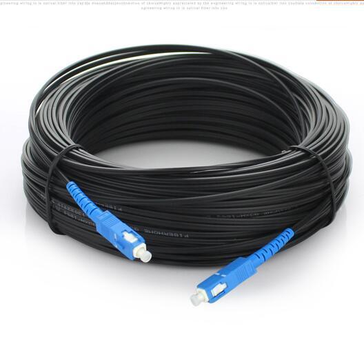 100 М FTTH-Fiber Optic Ответвительный Кабель Патч-Корд SC в SC Simplex SM SC-SC 100 М Ответвительный Кабель Patch шнур