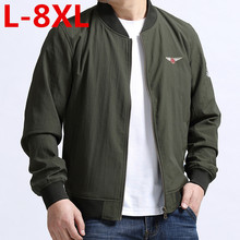 Plus größe 8XL 7XL 6XL 5XL 4XL Frühling Jacke Männer Wasserdichte Herbst Dünne Dünne Beiläufige Männer jacken Mode Hohe Qualität