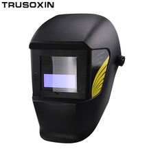 Auto darkening/shading welding mask/helmet/welder cap for welder operate the TIG MIG MMA/ZX7 welding machine and plasma cutter 220v 3 in1 multi functionplasma cutter mma tig w elder set display welding machine for welding