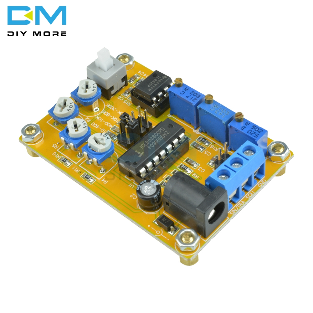 Signal Generator By Ic 8038
