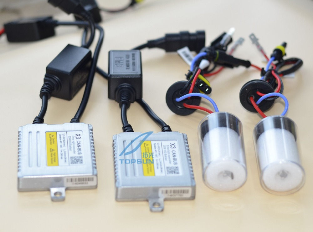 GZTOPHID Car light kit  X3 CANBUS AC 35W DIGITAL HID BALLAST and CNLIGHT XENON BALL BULB H1 H3 H7 H9 H11 9005 9006 880 H27