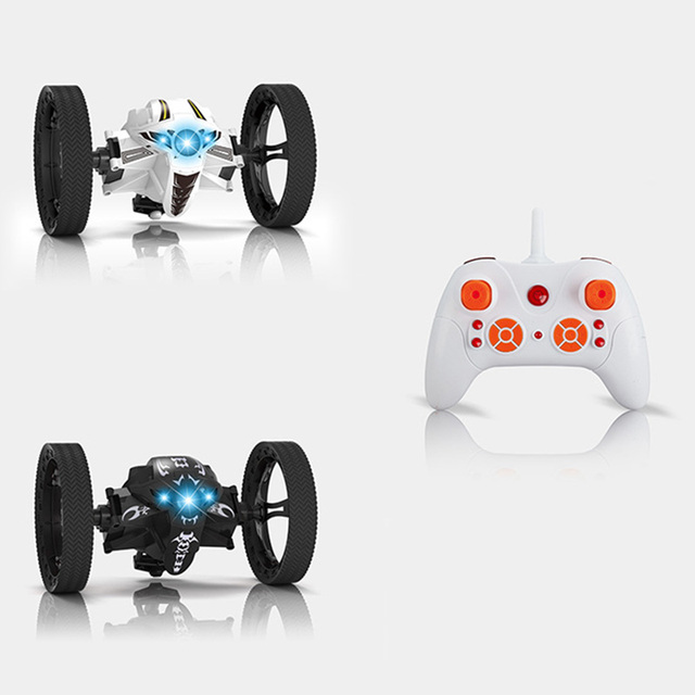 Novo Salto Saltando Dragão 2.4g RC Carro com Rodas Rotação Flexível LEVOU Luzes Da Noite de Aniversário Para Crianças Brinquedos Presentes de Natal NSV775