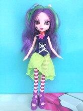 Viola con i capelli lunghi mare Princes ragazza Originale Starfish principessa figure cavallo Principessa EGDoll giocattolo Bambola