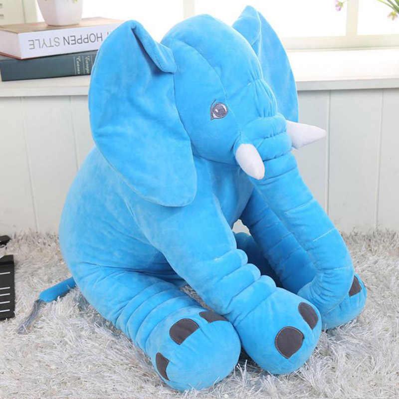 40 см/16 ''каваи детеныш животного, Слоненок стиль куклы Мягкие плюшевые игрушки слон плюшевая подушка для кровати мягкие подарки для детей 02