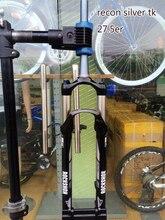 Original ROCKSHOX RECON SILBER TK 27,5 er luftfederung vorne remote spitz zulaufend fahrrad gabel