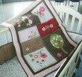 Nova 7 pcs bedding set do bebê do bebê do leão berço crib bedding definir animal dos desenhos animados da árvore do mundo set Quilt Bumper Folha de berço do bebê saia