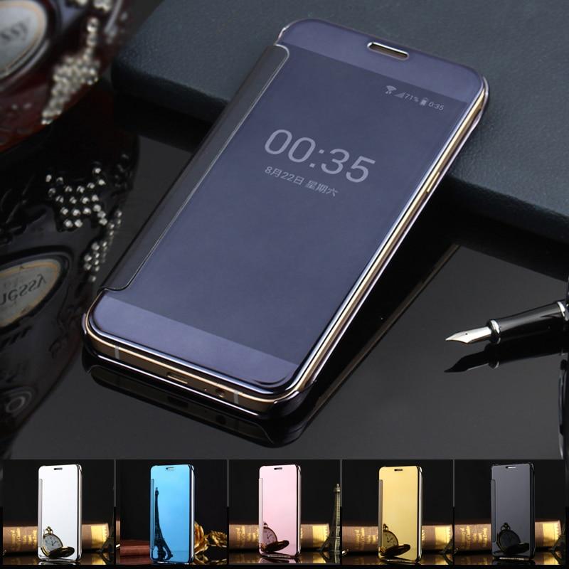official photos bdbcd e69f9 US $4.49 10% OFF|Aliexpress.com : Buy Luxury Mirror Flip Case For Samsung  Galaxy A5 2016 Clear View Cover Case For Samsung A5 2016 A5100 A5108 A510  ...
