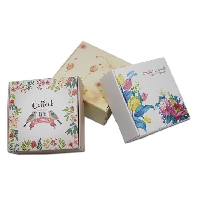 Préférence 250 pcs/Lot DHL Papier Pliable Petit Paquet Boîte Pour Les Bijoux  PX35