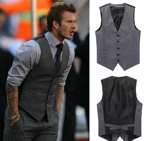 Black Dress Shirt Grey Vest Dress Style