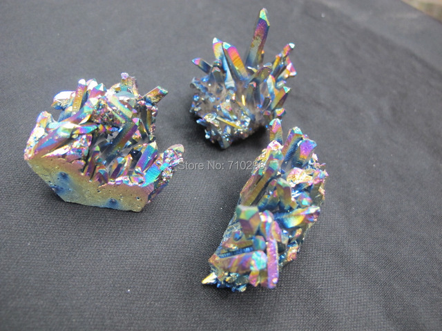 New arrived Charming Rainbow Druzy Quartz very beautiful natural quartz