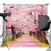 Mehofoto розовый цветок дерево винил фотографии Задний план для свадьбы живописный Новый Ткань полиэстер фон для Аксессуары для фотостудий 6264