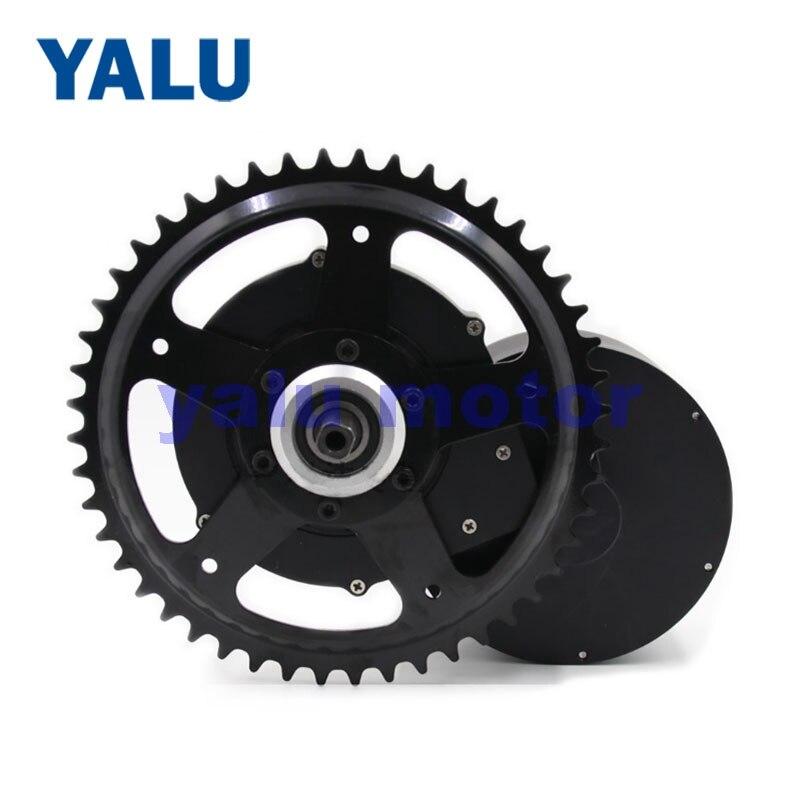 YALU MOTOR Neue Artikel 250 W-800 W Nahen Stick Bürstenlosen Elektrische Fahrrad Conversion Kit geeignet installieren auf 12 inch zu 26 Zoll Fahrrad