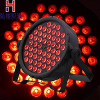 1pcs/lot China dj par slim led par 54x3W RGB dmx led par light rgbw No Noise