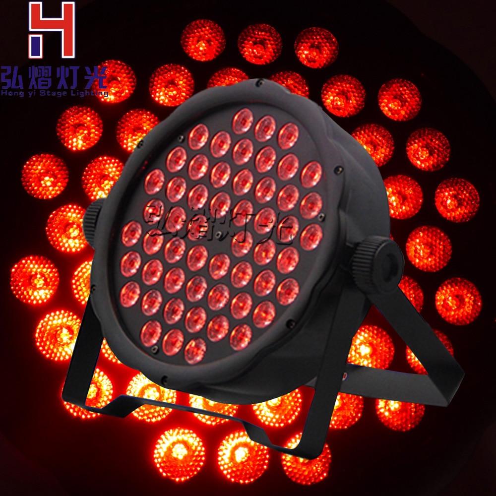 1pcs/lot China dj par slim led par 54x3W RGB dmx led par light rgbw No Noise chauvet dj slim par 56