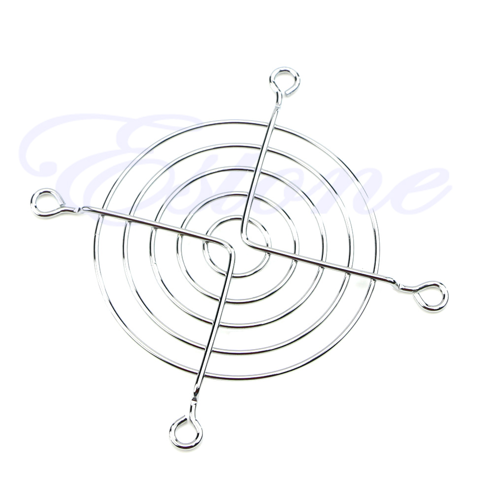 New Sale Metal 80mm PC Chrome Wire Fan Grill / Cover / Guard Protector