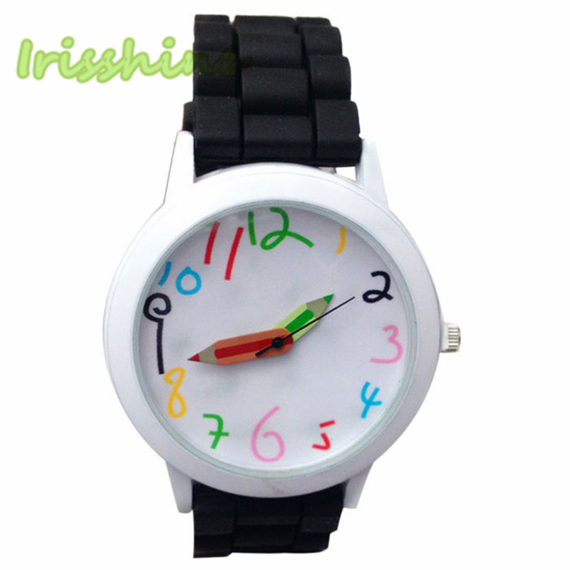Irisshine I0319 Unisex Watches Men Woman Fashion Quartz Boys And Girl's Beautiful Students All-Match Watch Love Gift
