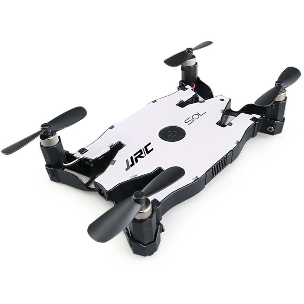 JJR/C H49 2.4GHz Ultra thin Foldable Mini Quadcopter Drone with Wifi FPV 720P HD Live Video Camera Altitude Hold 360 Flips Model