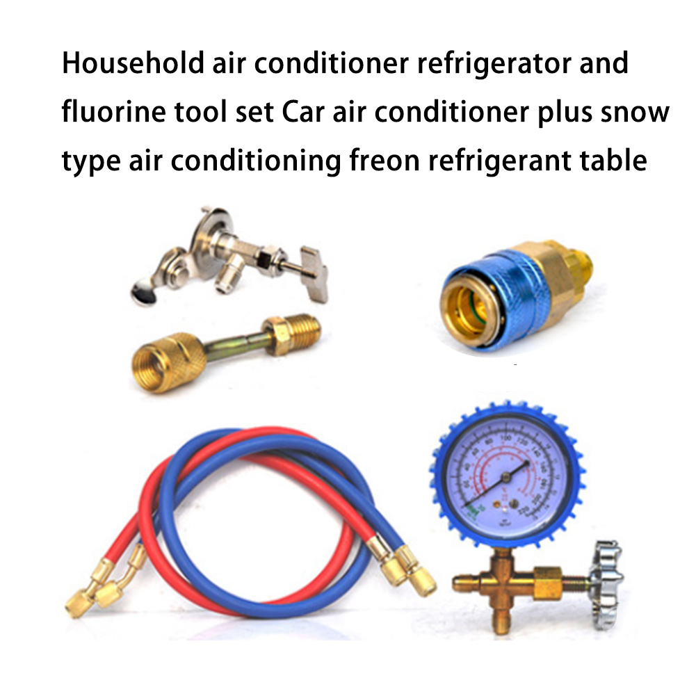 Air Conditioning Refrigerant Adding Tool Kit