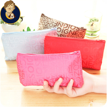 Cosmetic storage bag large volume waterproof small bag contracted portable cosmetic bag