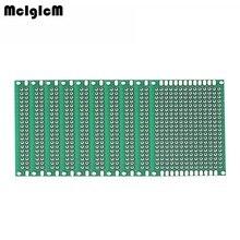 MCIGICM 10 шт. pcb двухсторонний Прототип PCB diy универсальная печатная плата 4x6 см Горячая