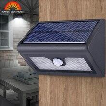 XINREE 38 Светодиодный Солнечный свет Солнечный Мощность движения PIR Сенсор настенный светильник Водонепроницаемый IP65 наружная Защитная лампа уличная лампа для сада
