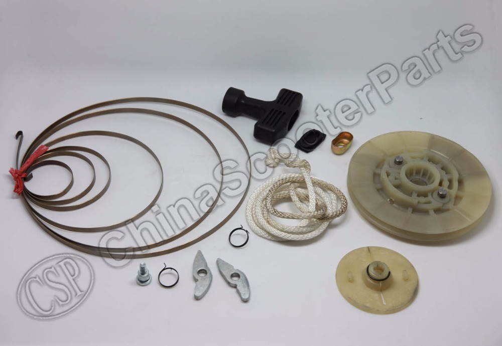 Kazuma 500cc ATV Pull Starter Full Spare Parts Kit Handle Rope Plate Bolt Spring