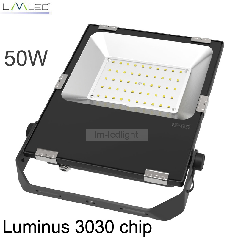 LED FloodLight 50W 85-265V IP65 Waterproof Smart Driver LED Flood Light Spotlight Outdoor Wall Lamp Garden Projectors ultrathin led flood light 200w ac85 265v waterproof ip65 floodlight spotlight outdoor lighting free shipping