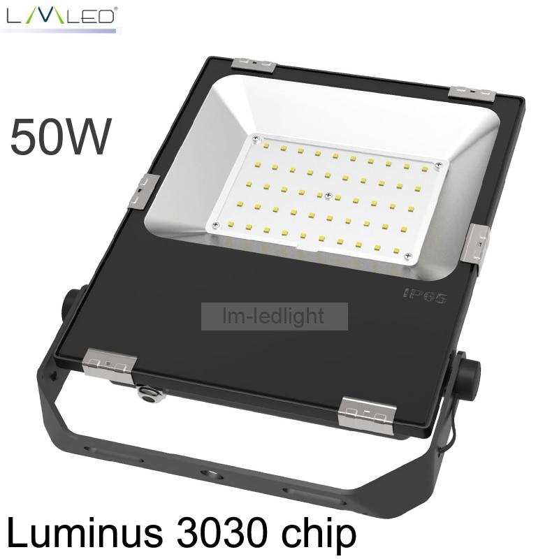 LED FloodLight 50W 85-265V IP65 Waterproof Smart Driver LED Flood Light Spotlight Outdoor Wall Lamp Garden Projectors
