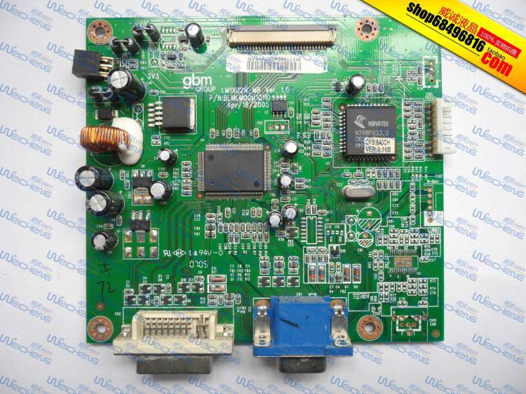 Free Shipping>Wise Wing W904DB logic board BLMLM00M10110 driver board / motherboard-Original 100% Tested Working free shipping hg191 logic board 715g1558 1 bj driver board motherboard signal board original 100% tested w