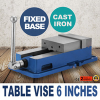 Precision Milling Vise 6 Inch ACCU Lock Vise with 6 Inch Jaw Width Milling Drilling Machine Lock Down Vise Bench Clamp