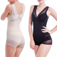 New Corsets Conjoined Chest Hip Waist Body Body Ladies Underwear Summer Thin Section Black Skin Tone Color