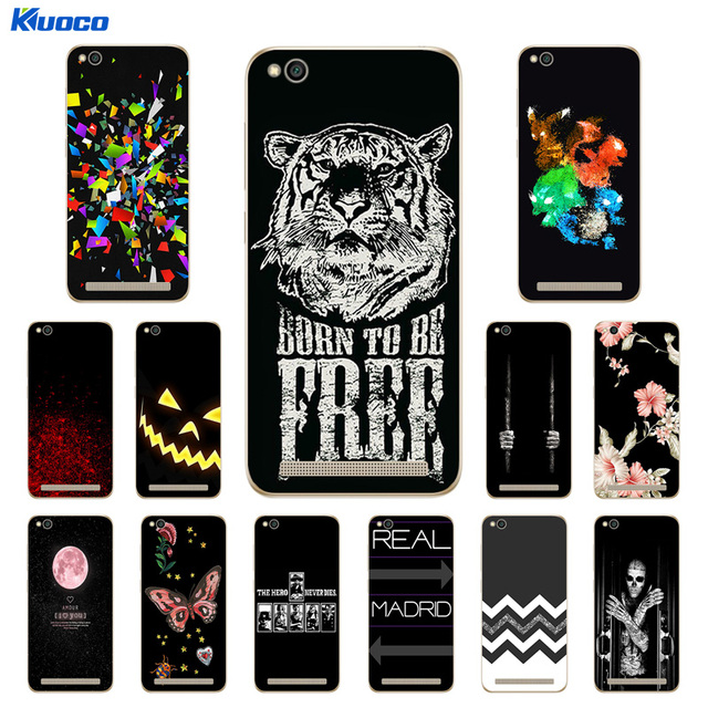 new style 3154c 3def9 US $2.08 |Soft Case Xiaomi Redmi 5A 5.0 inch Back Cover Character Printing  Silicone Phone Case Clear for Xiaomi Redmi 5A 5 A Coque-in Fitted Cases ...