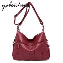 Leather luxury handbags ladies bag designer Messenger summer 2018 white Sac A mahite Main