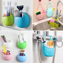 Kitchen Bathroom Accessories Cute Eggs Design Toothbrush Holder Wall Suction Cups Plastic Soap Dish Soap Hanging Storage Box dropship plastic suction cup soap toothbrush box dish holder drain rack bathroom shower accessory bathroom accessories