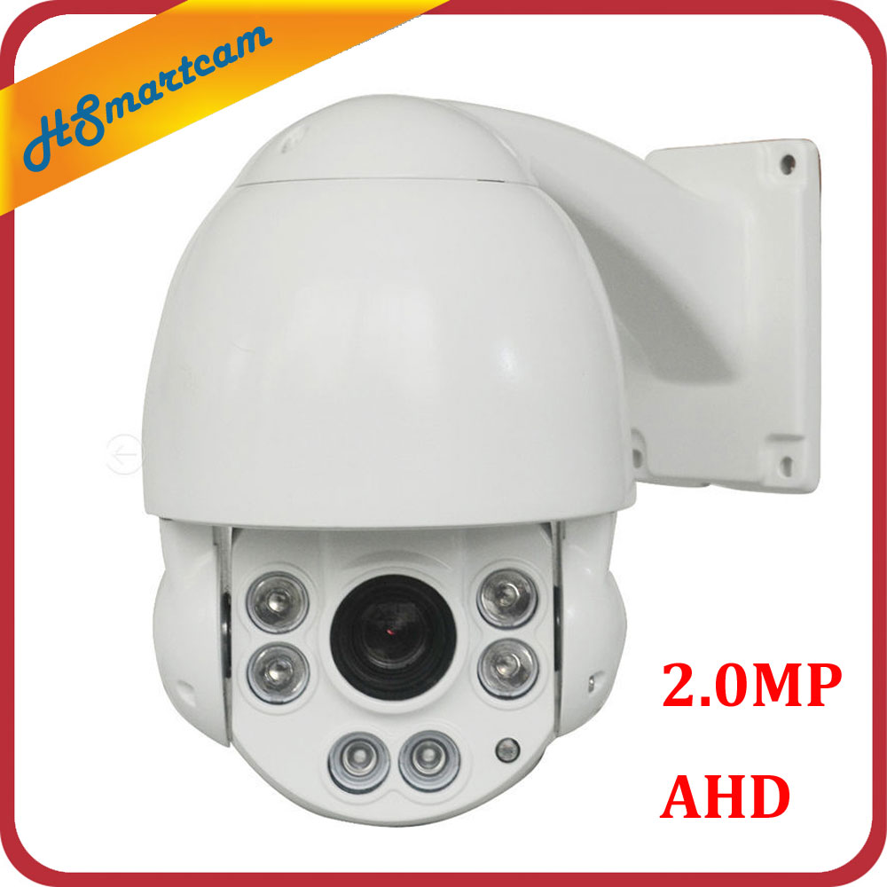 AHD 1080P MINI HD High Speed PTZ Dome IP Camera 2.0MP Outdoor 10X ZOOM CCTV Security Video Surveillance Camera 60M IR 2 0mp mini high speed dome camera security surveillance 10 x zoom ahd tvi cvi analog ptz camera hd 1080p ir cctv 5 1 51mm 4 in 1
