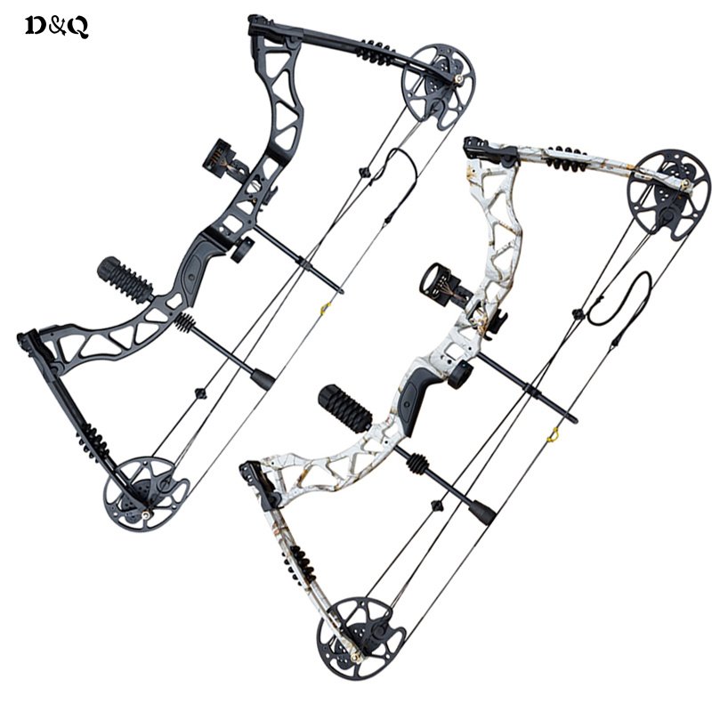 Compound Bow Hunting Archery Set 35-70lbs with Accessories for Outdoor Shooting Competition Sport Slingshot Bow Black Camouflage soft arrowhead 20lbs camouflage archery cs game compound bow slingshot take down bow for hunting shooting practice games
