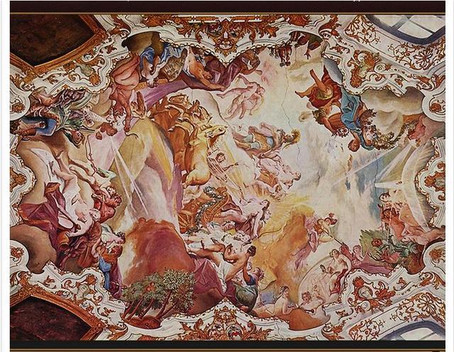 customized 3d wallpaper 3d ceiling wallpaper murals renaissance ofcustomized 3d wallpaper 3d ceiling wallpaper murals renaissance of the chariot of the sun zenith mural room decoration