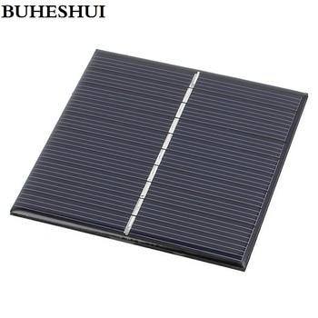 BUHESHUI 30pcs 5V 0.8W Polycrystalline Solar Cell DIY Solar Panel Charger System 3.7V Battery  Light Study Kits Epoxy 80*80MM