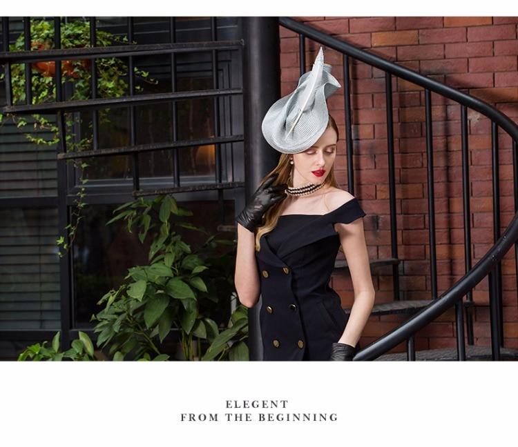 2_elegant wedding hats and fascinators