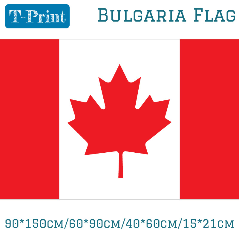 Free shipping 90 150cm 60 90cm Canada Flag Banner 40 60cm 15 21cm in Flags Banners Accessories from Home Garden