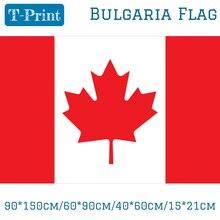 Free shipping 90*150cm/60*90cm Canada Flag Banner 40*60cm/15*21cm