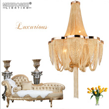New Arrival Chandelier Light Post Chain Aluminum Suspension Light Hanging Drop Lustre for Living room Hotel Project Lights new arrival k9 crystal pendant light modern fashion single light led dining room hotel project lustre suspension drop light