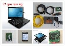 Профессиональный для bmw диагностический инструмент для bmw icom а2 с для lenovo thinkpad x201 i7 cpu 4 г с 500 ГБ hdd новейшее программное обеспечение