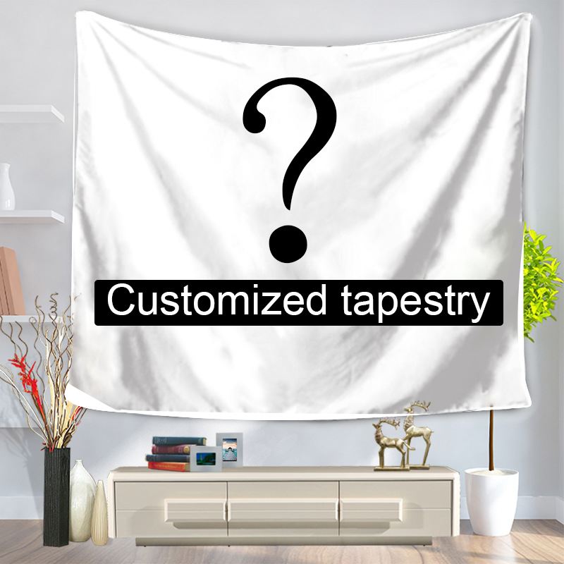 Customized Mandala Polyester Tapestry Wall Hanging Tapestries Christmas Wedding Decoration Table Cloth 197*147cm147*127cm