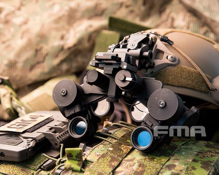 FMA Airsoft Paintball PVS21 NVG DUMMY Model No Function Kit Black TB1300
