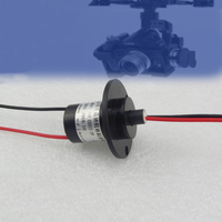 2 Channel 10A Large Current Fpv Drone Slip Ring 22mm Capsule Conductive Slip Rings For High