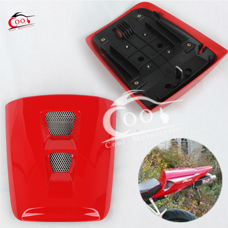 For Honda CBR 1000 RR 2004 2005 2006 2007 CBR1000RR Rear Seat Cover Cowl Bracket Red