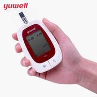 yuwell Blood Glucose Meter LCD Digital Glucose Meters Monitor Test Glycuresis Blood Sugar Detection Glucometer Medical Equipment
